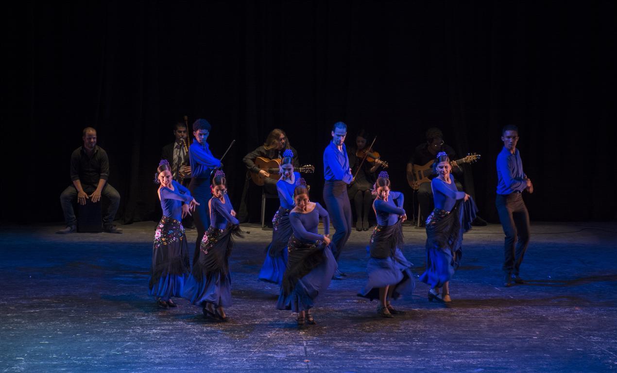 Ballet Español de Cuba en la Gala por la reapertura del Teatro Martí