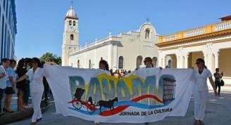 Inauguración de la XXXII Jornada de la cultura de Bayamo, provincia de Granma, Cuba, el 24 de marzo de 2016.     ACN FOTO/Armando Ernesto CONTRERAS TAMAYO/ rrcc