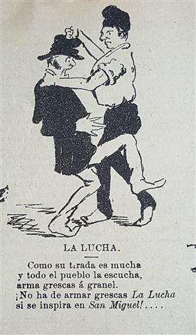 Caricatura. El Fígaro, 1888