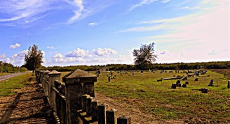 Cementerio de Columbia en la Isla de la Juventud después de la restauración. Foto: Arsenio Manuel Sánchez Pantoja