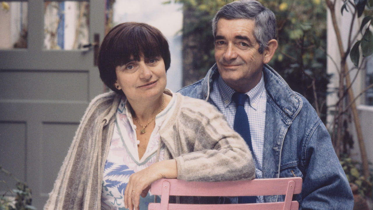 Agnès Varda y Jacques Demy
