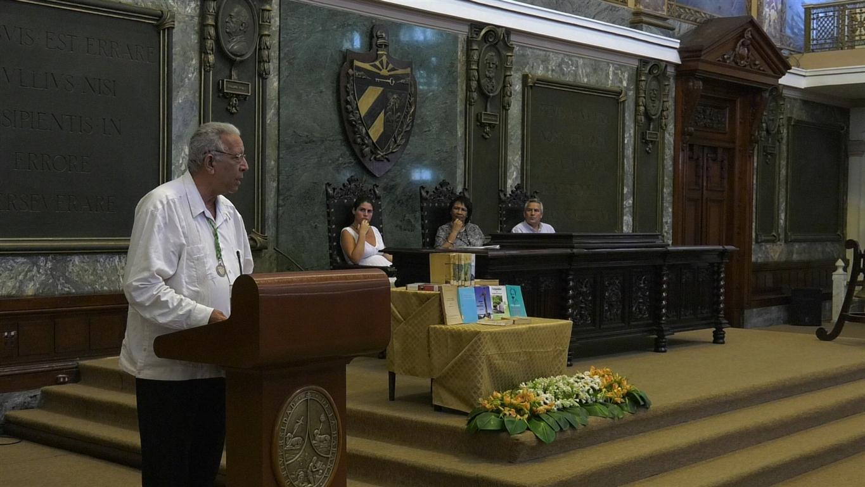 El historiador Eduardo Torres Cuevas