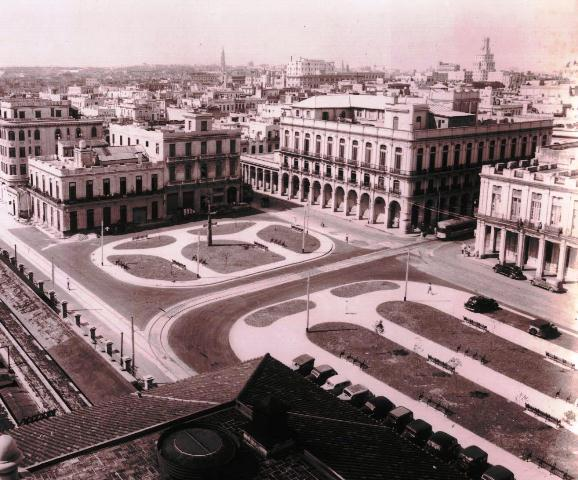 Trazado del parque, primeras décadas del siglo XX