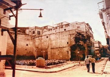 La parcela abandonada, década de 1980