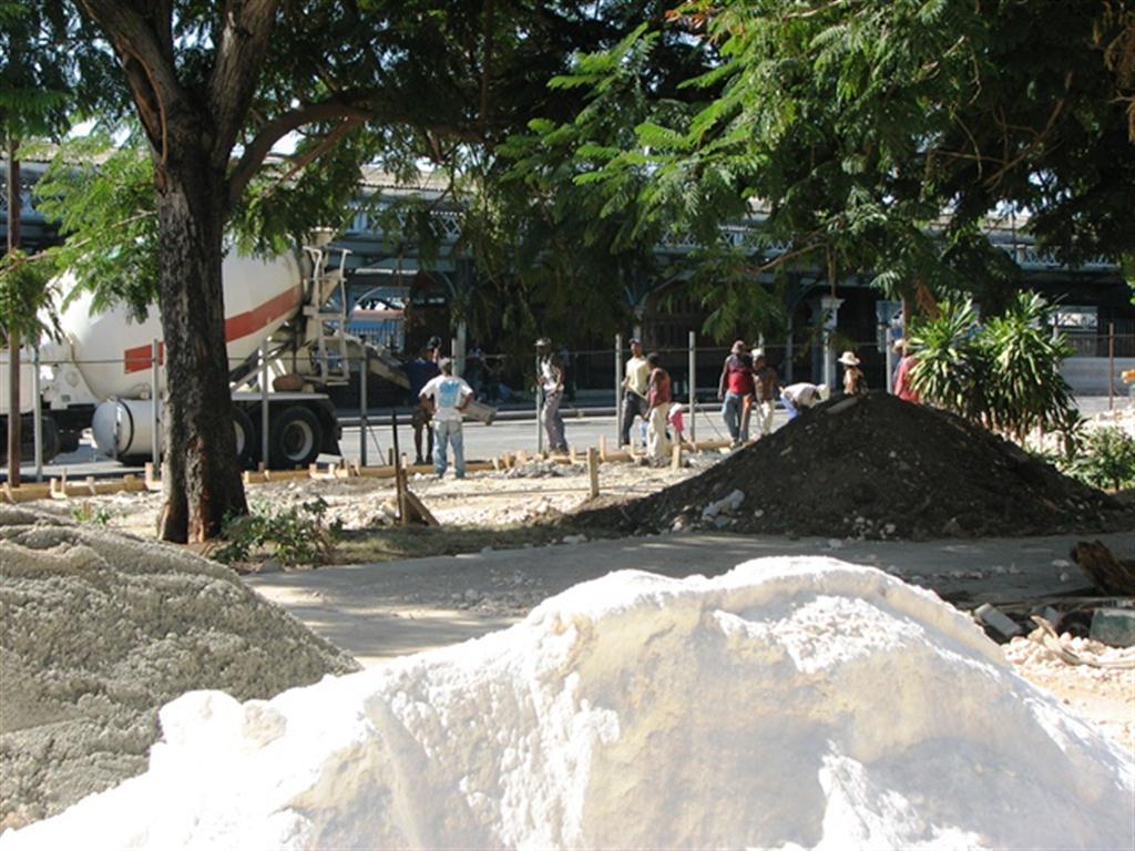 Obras en el parque