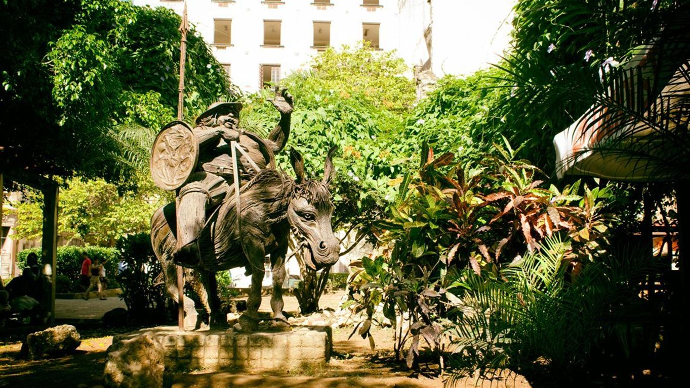 Escultura de Sancho Panza (foto de la web)
