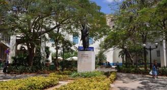 Plazuela Bolívar en la actualidad