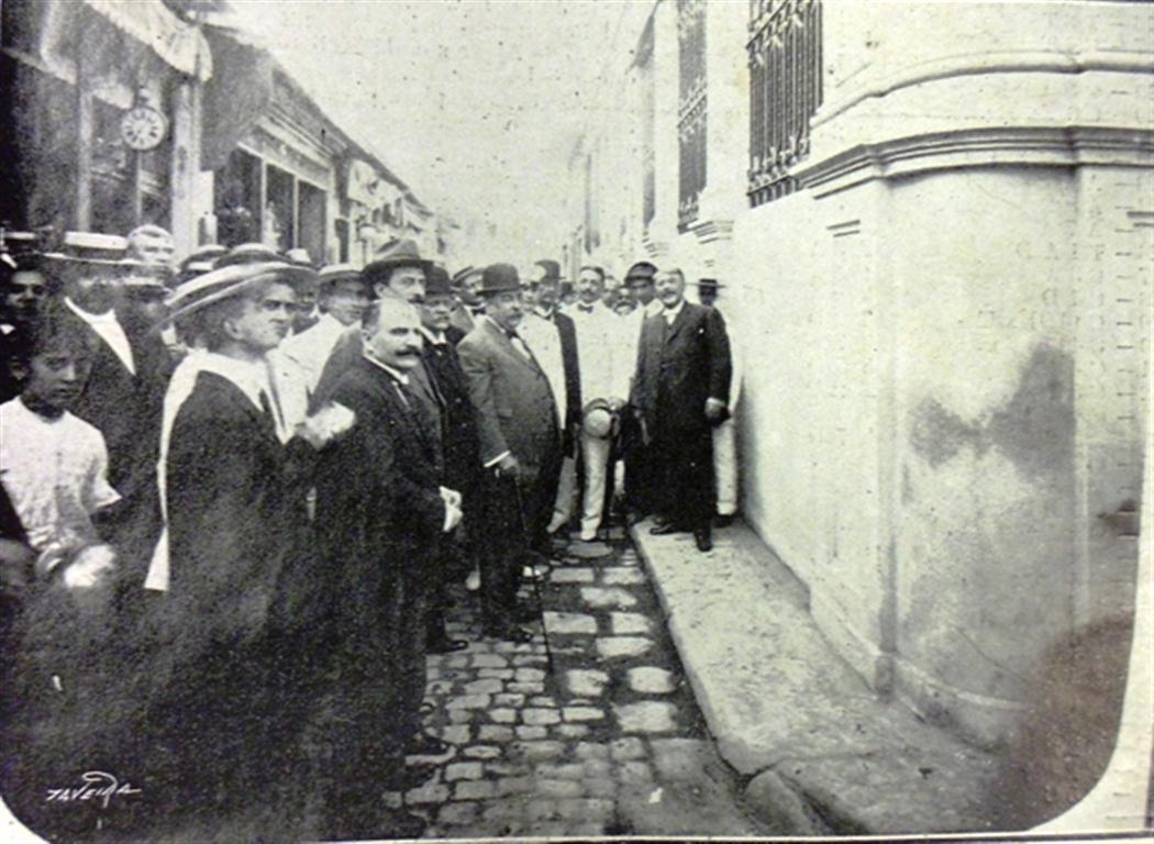 La Casa del Timbre, 1912, inauguración