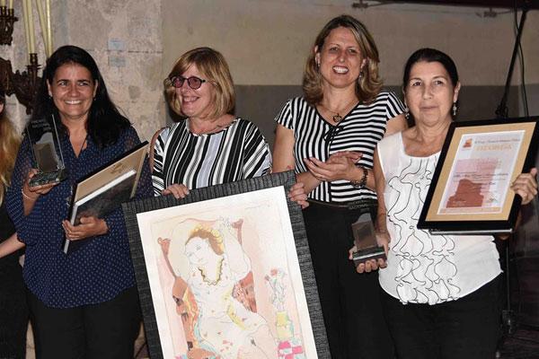 Palacio del Segundo Cabo, Premio Nacional de Restauración 2019, momentos del acto de premiación. Fotos: Omara García Mederos/ACN