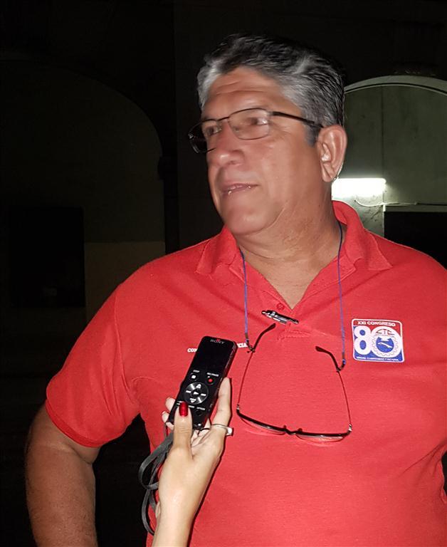 Miguel Ángel Castellano Ayala, Secretario General del Sindicato de la Unidad Servicios Generales de la OHCH