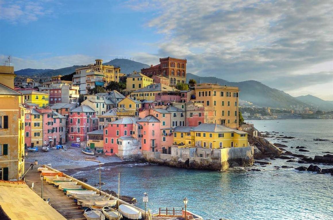 La ciudad portuaria de Genova, una de las más fascinantes de Italia