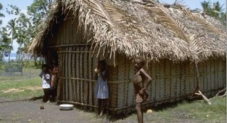 habitantes de VAnuato en las polinesias