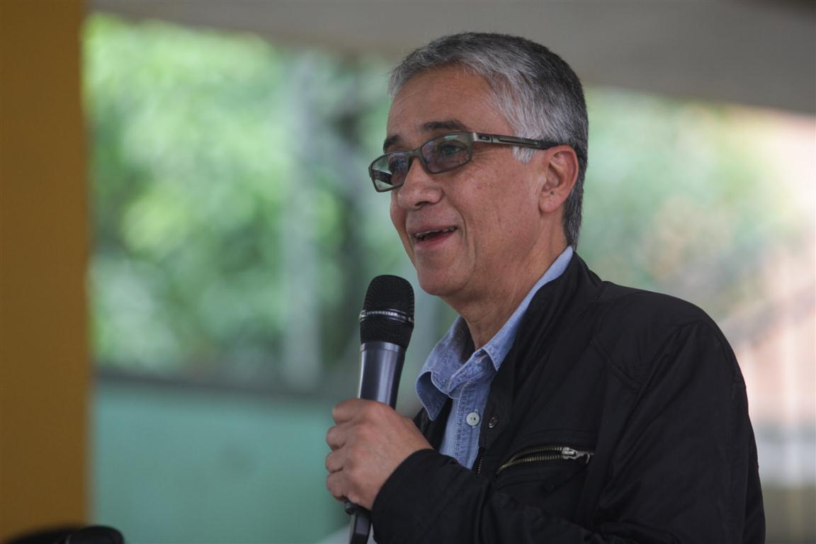 El escritor y gestor cultural Juan Diego Mejía