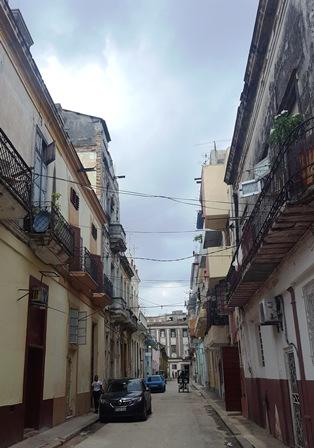 Callejón de Porvenir, desde Habana