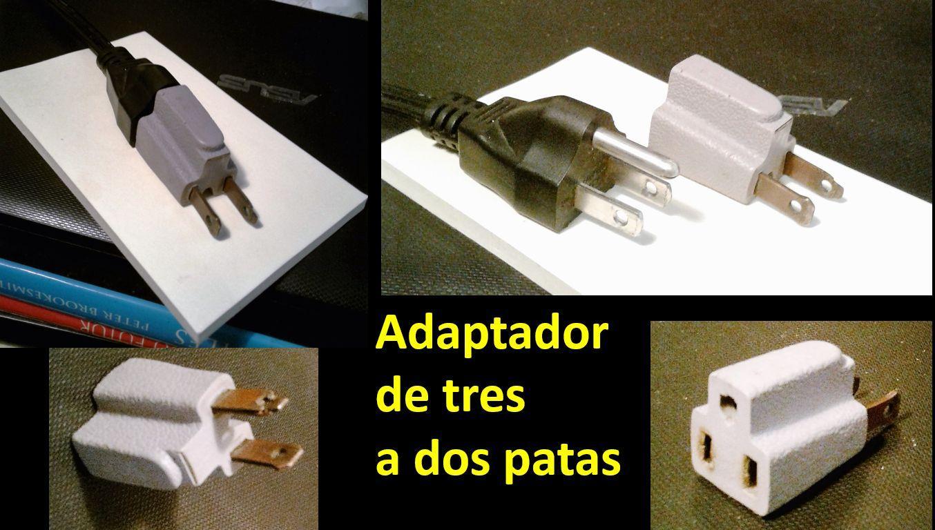 4- adaptador de 3 a 2 patas (Medium)