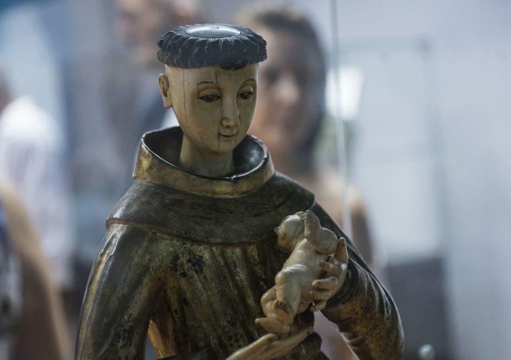 Imagen de Antonio de Padua, también conocido como San Antonio de Lisboa