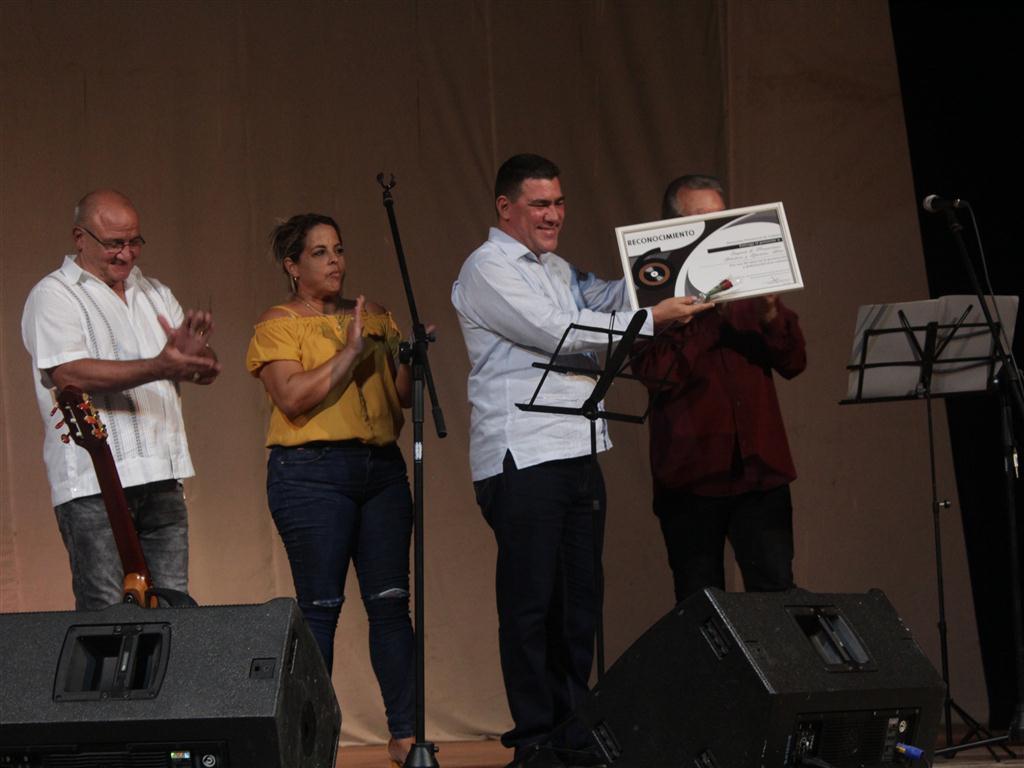 Iván Paz, Gerente de Artex en la provincia, institución reconocida