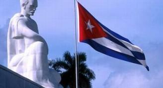 jose-marti-bandera-cubana-palma-real