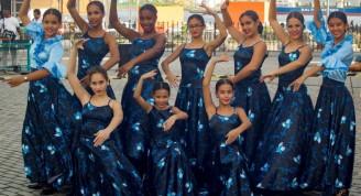 Actividad por el 498 aniversario de la Ciudad de La Habana, en la Alameda de Paula