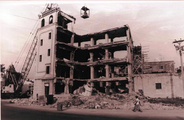 San Pedro 554 (demolición del edificio en mal estado)