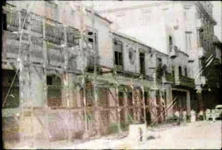 Trabajos de restauración década de 1980