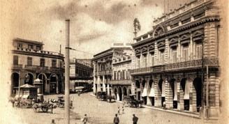 Plazuela de Luz, principios S. XX