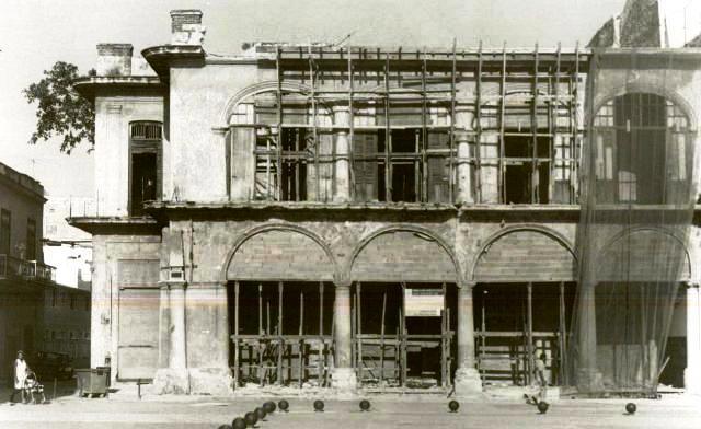San Ignacio 368, obras en el edificio