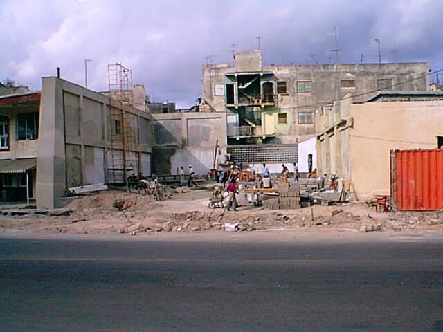 Obras de reanimación (San Pedro 554)