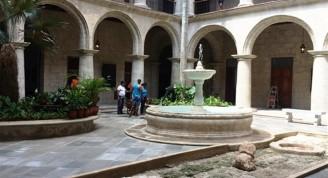 Patio Claustro Sur, última restauración 2019