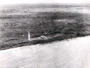 Faro Roncali en el Cabo San Antonio, extremo occidental de Cuba