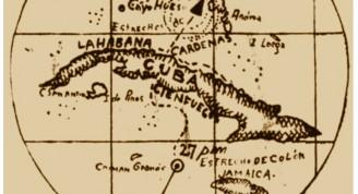 Mapa ciclón de Cienfuegos 1935