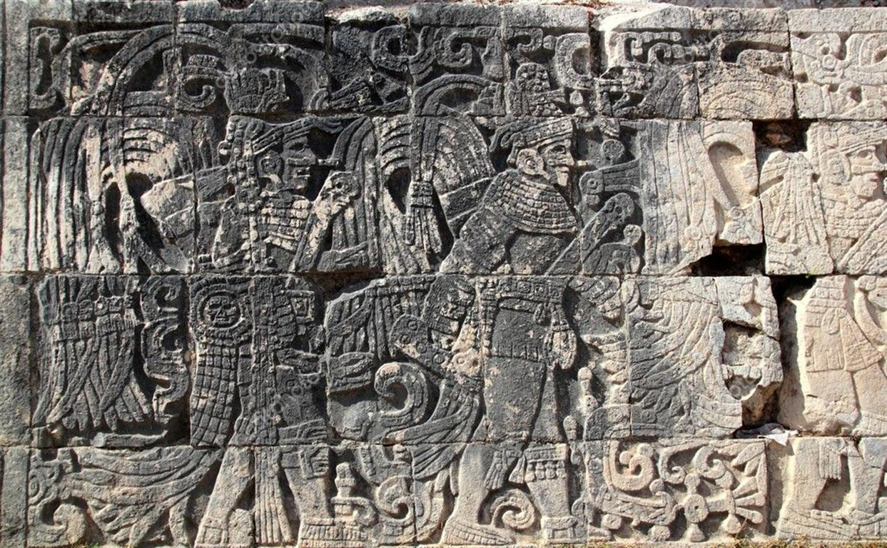 Chichén Itzá jeroglíficos mayas pok-ta-pok