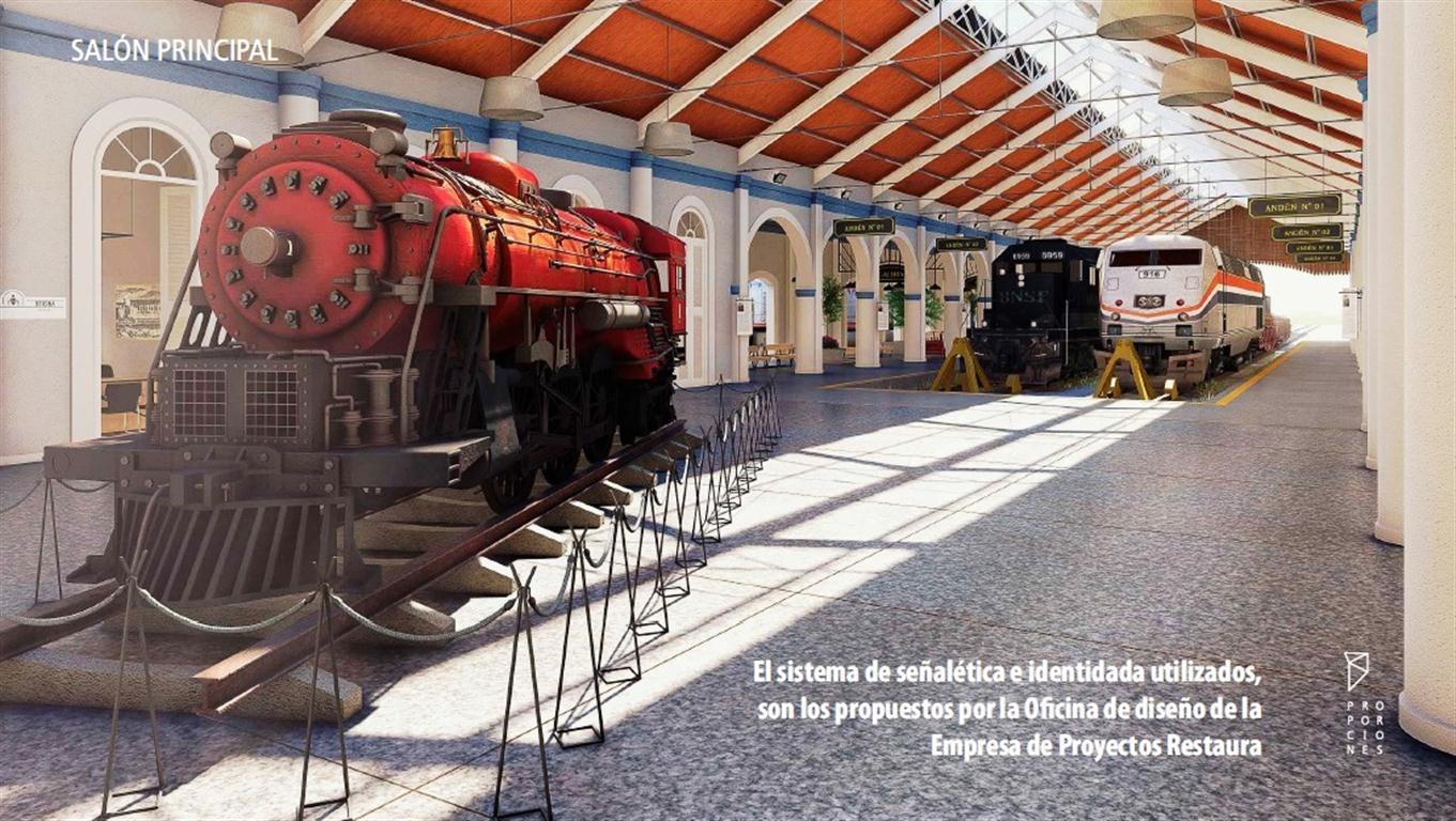 Proyecto del Museo del Ferrocarril