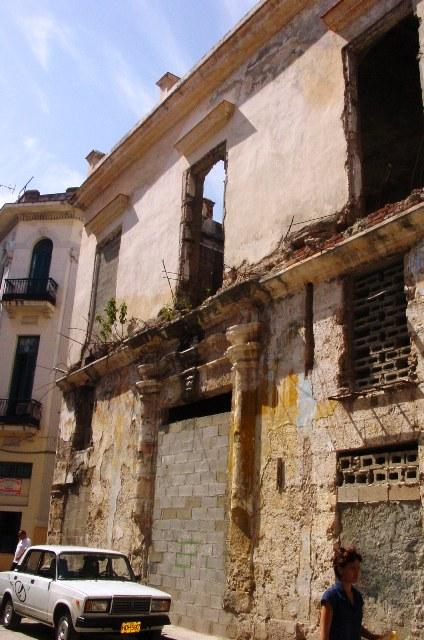 San Ignacio 414, deterioro