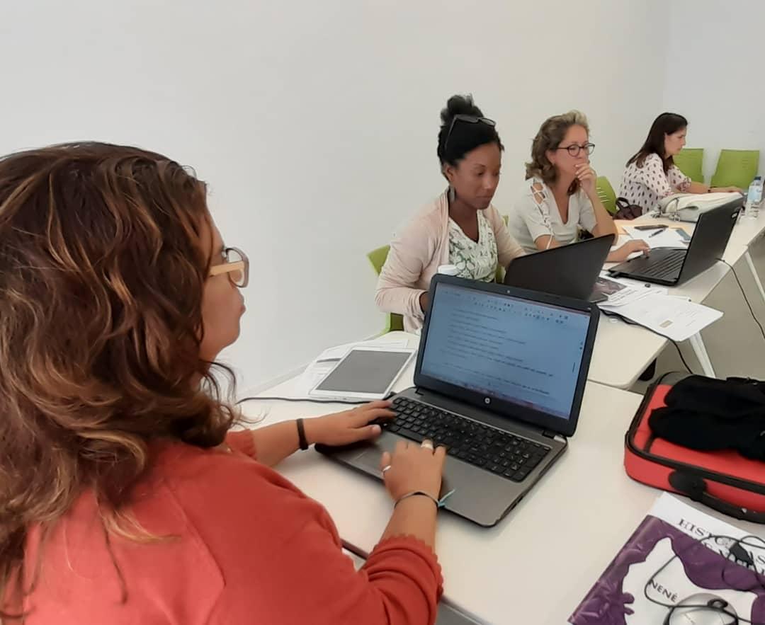 Sesión de trabajo en la Fundación Ciudadanía