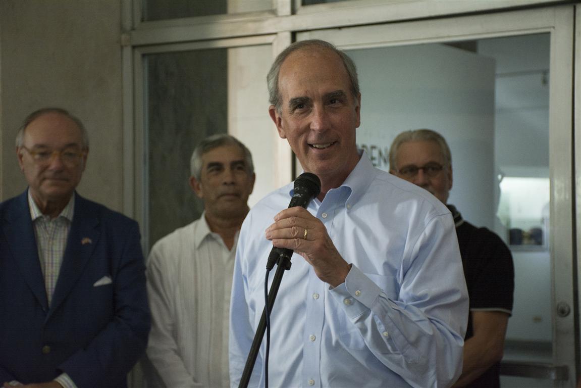 El Alcalde de Mobile, Sr. Sandy Stimpson