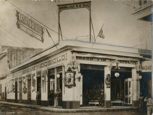 Bazar Fin de Siglo, finales del siglo XIX