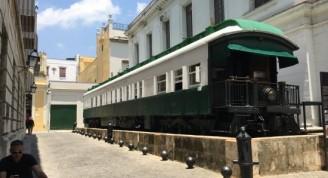 Calle Churruca, coche mambí o vagón presidencial