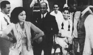 """Fotograma de la primera película sonora cubana """"Maracas y Bongó"""""""