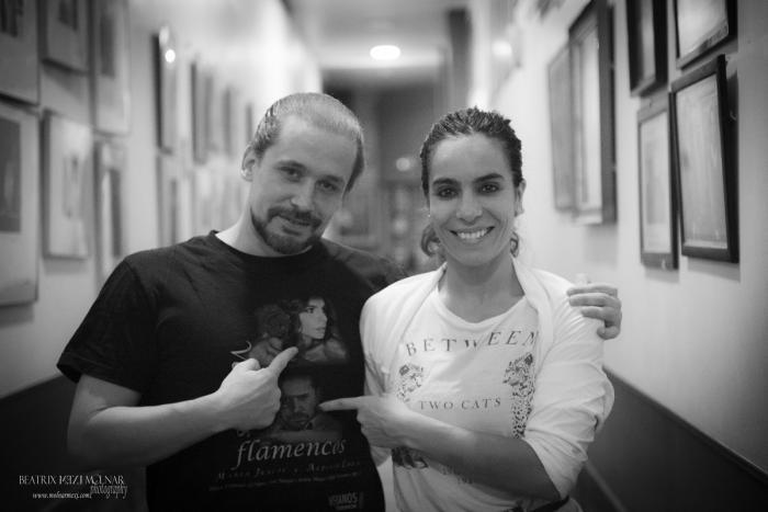 María Juncal y Alfonso Losa