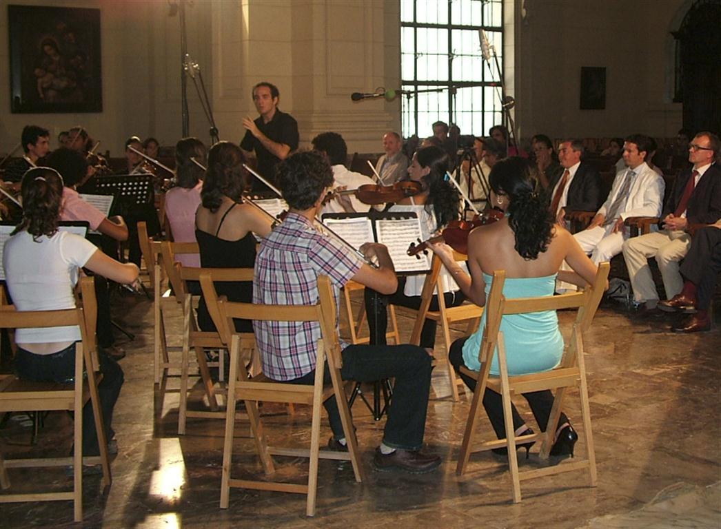 Orquesta Sinfónica del ISA, adjunta al Lyceum Mozartiano de La Habana