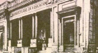 Antigua Cámara, Ministerio de Educación