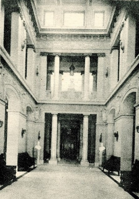 Hall central, 1930