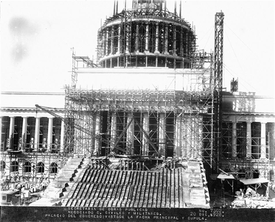 Construcción del Capitolio, 1928