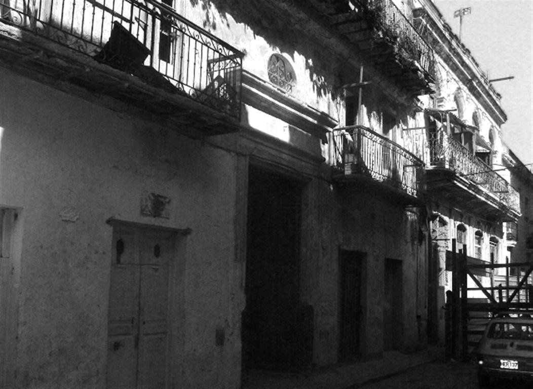 Calle Inquisidor deterioro de los palacetes coloniales
