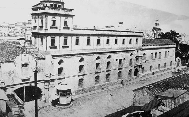 Convento de Belén y plazuela-principios de siglo XX