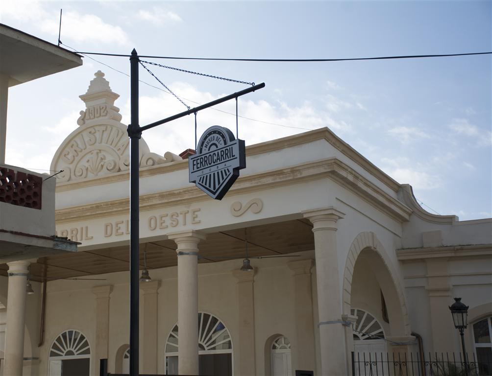 Estación de Cristina (Museo del Ferrocarril de Cuba)