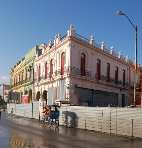 Obras en San Pedro 352