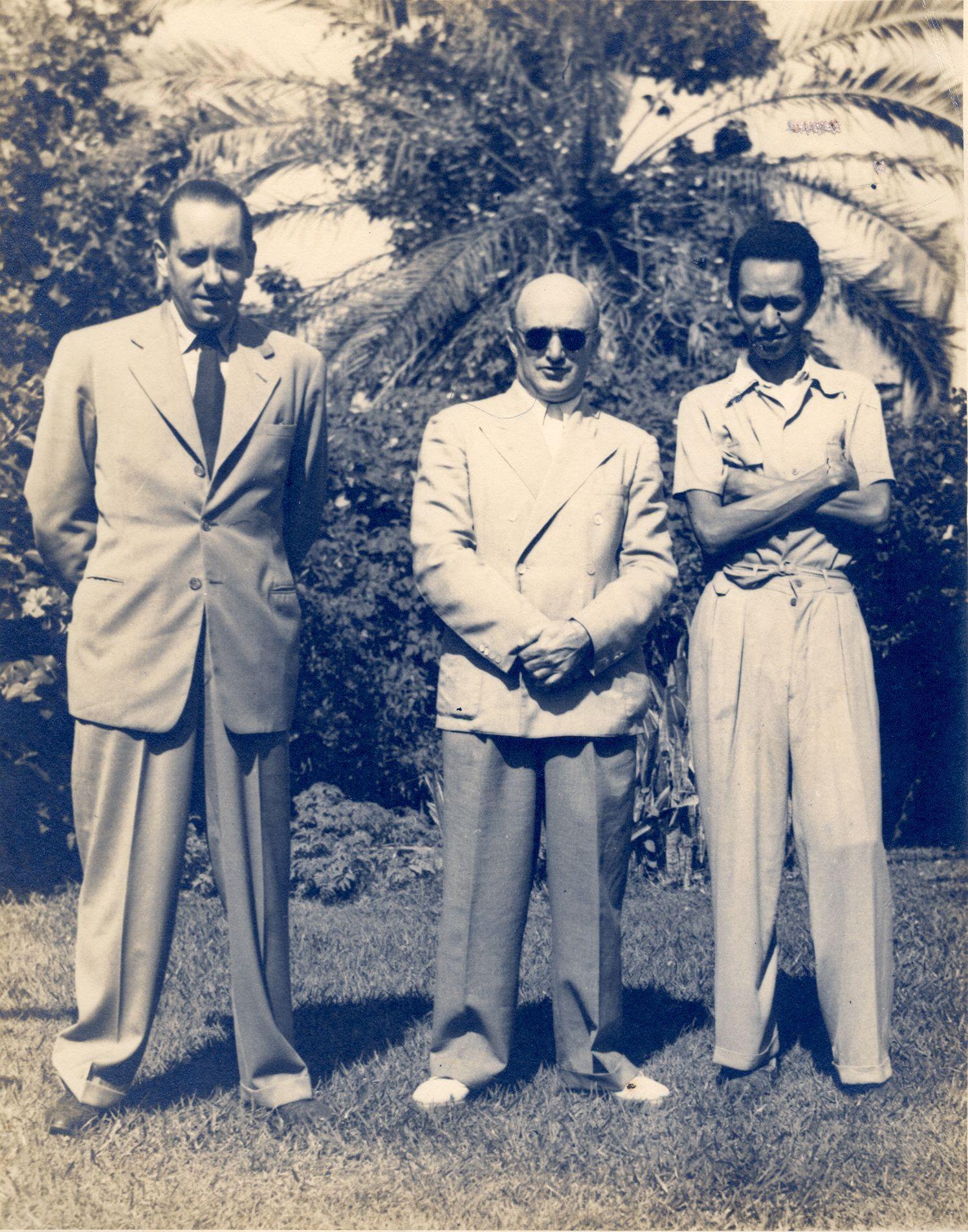 Carpentier, Erich Kleiber y Wifredo Lam en La Habana, 1943