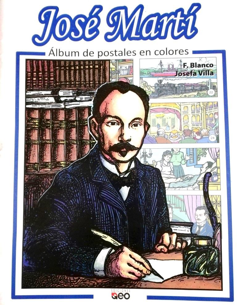 José Martí. Álbum de postales en colores